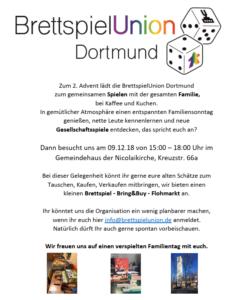 Familiennachmittag + Bring&Buy Flohmarkt @ Gemeindehaus der Nicolaikirche